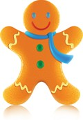 Gingerbread Man visits PreK