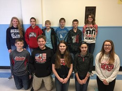 Math Counts Competition Participants