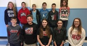 Math Counts Competition Participants