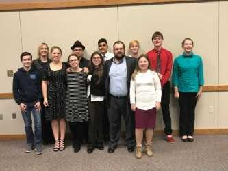 Middle School students participate in Mock Trial