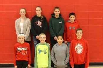 Middle School students are awarded as BCM