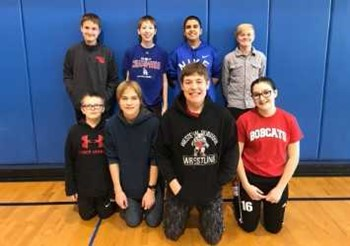 Middle School students attend math competition