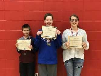 Middle School students participate in the Geography Bee