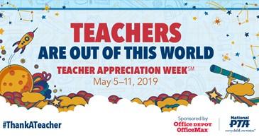 Teacher and Staff Appreciation Week