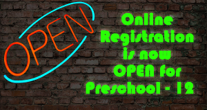 Online registration is open