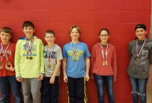 Middle School students participate in Math Olympiad