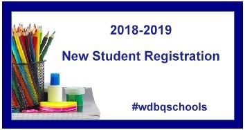 2018-2019 New Student Registration