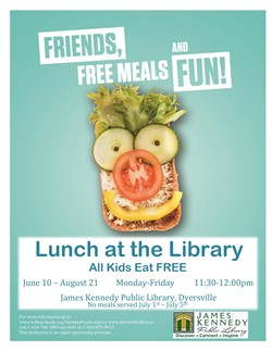 Summer Foods Flyer