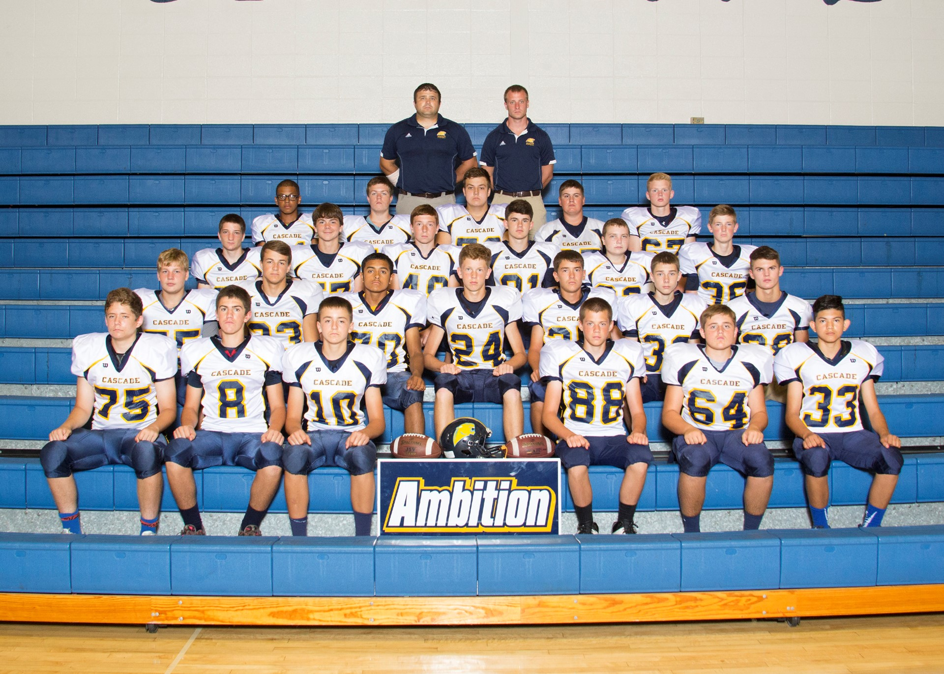 2016 JV Football Team