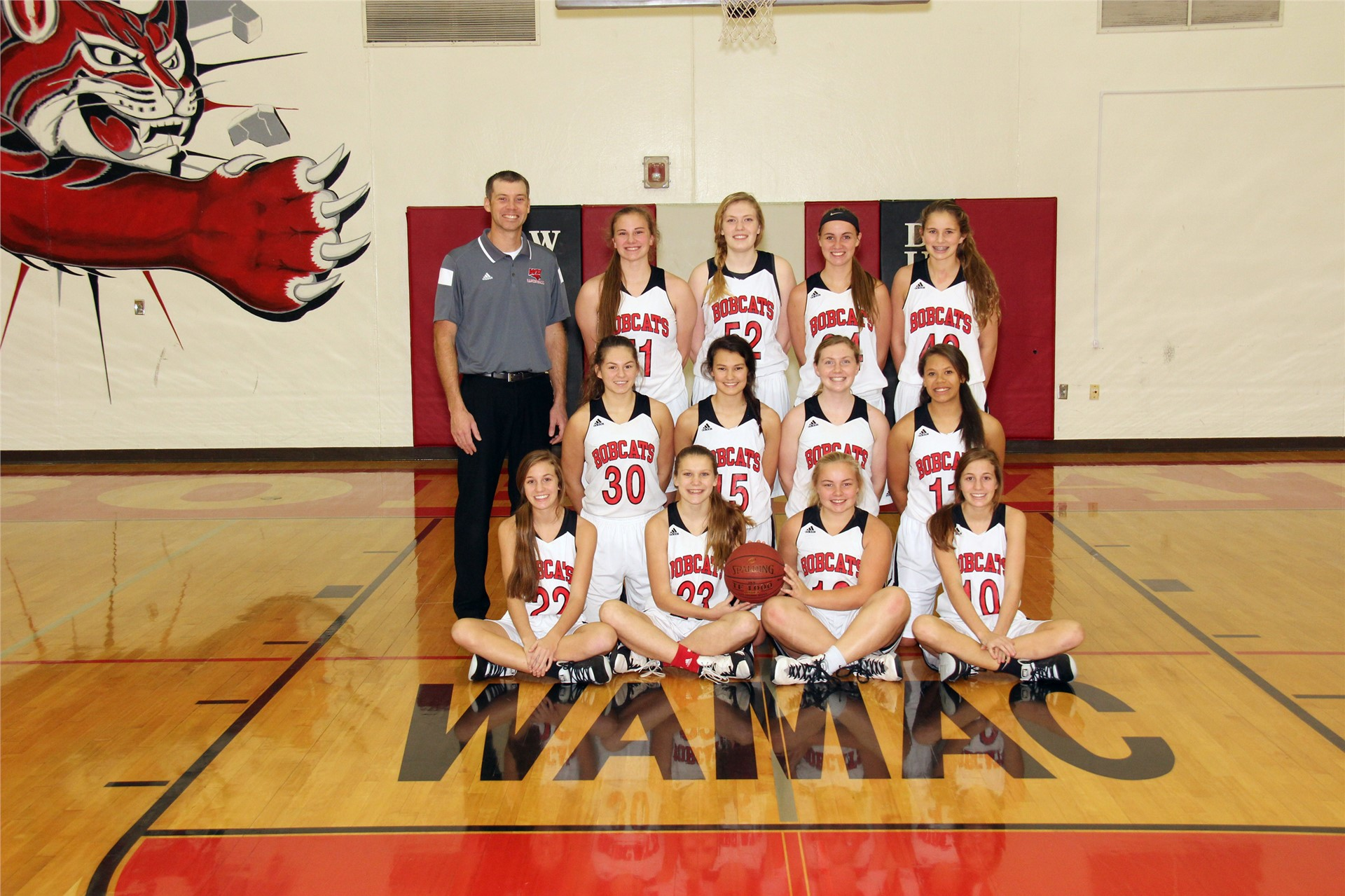 Girls Sophomore Basketball - Coach Doug Rolwes