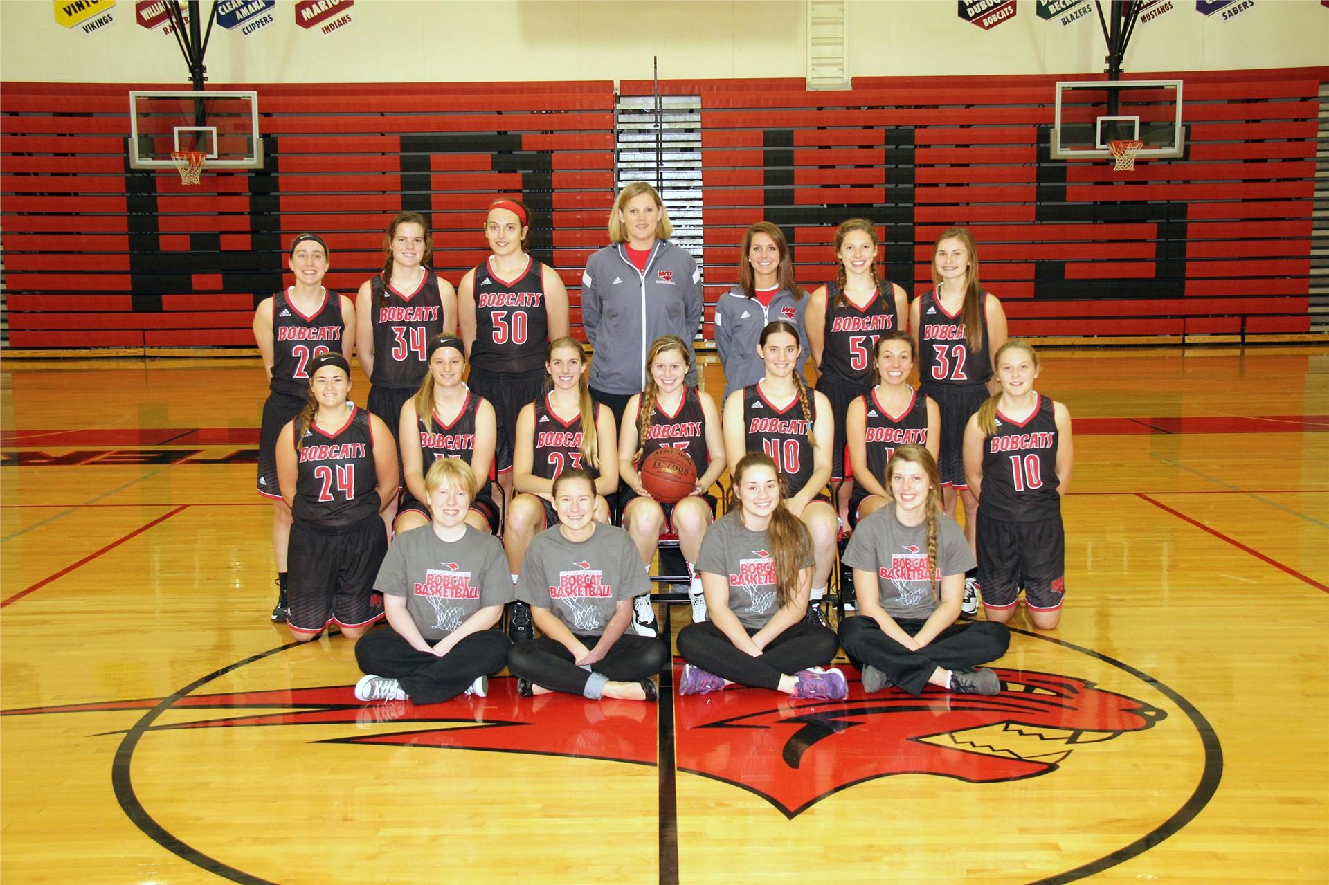 Girls Varsity Basketball - Coach Amy Ostwinkle