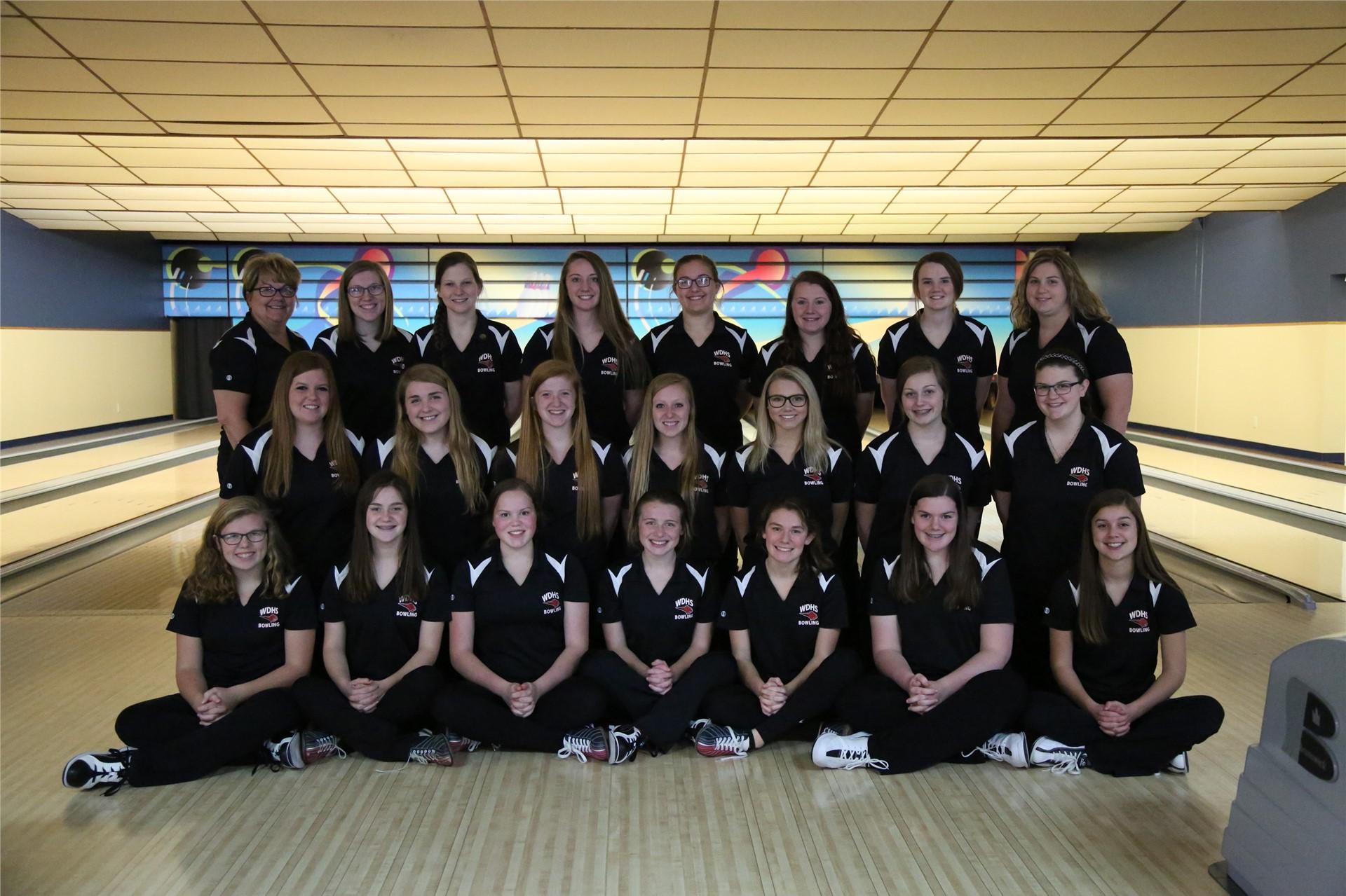 Girls Bowling - Coach Kay Heiberger