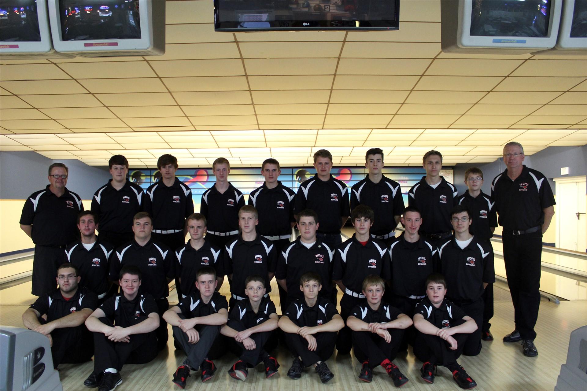 Boys Bowling - Coach Al Heiberger