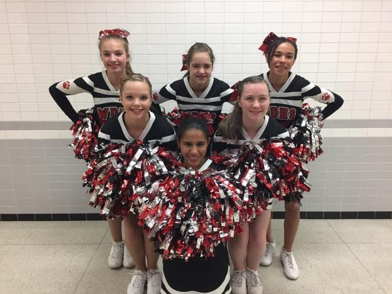 Basketball Cheerleaders - Coach Jill Hogan