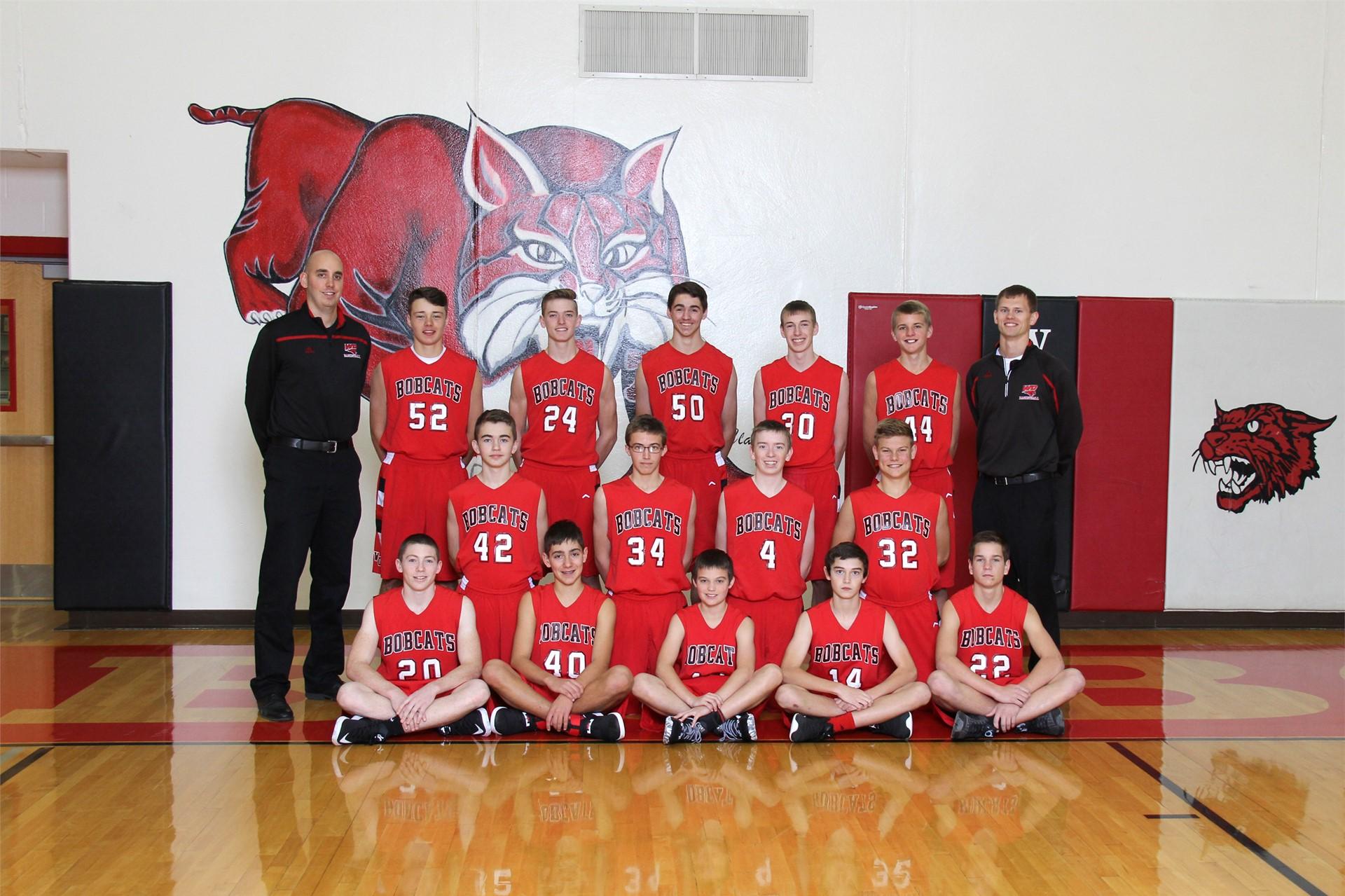 Freshmen Boys Basketball - Coaches Grant Wulf & Hunter Westhoff