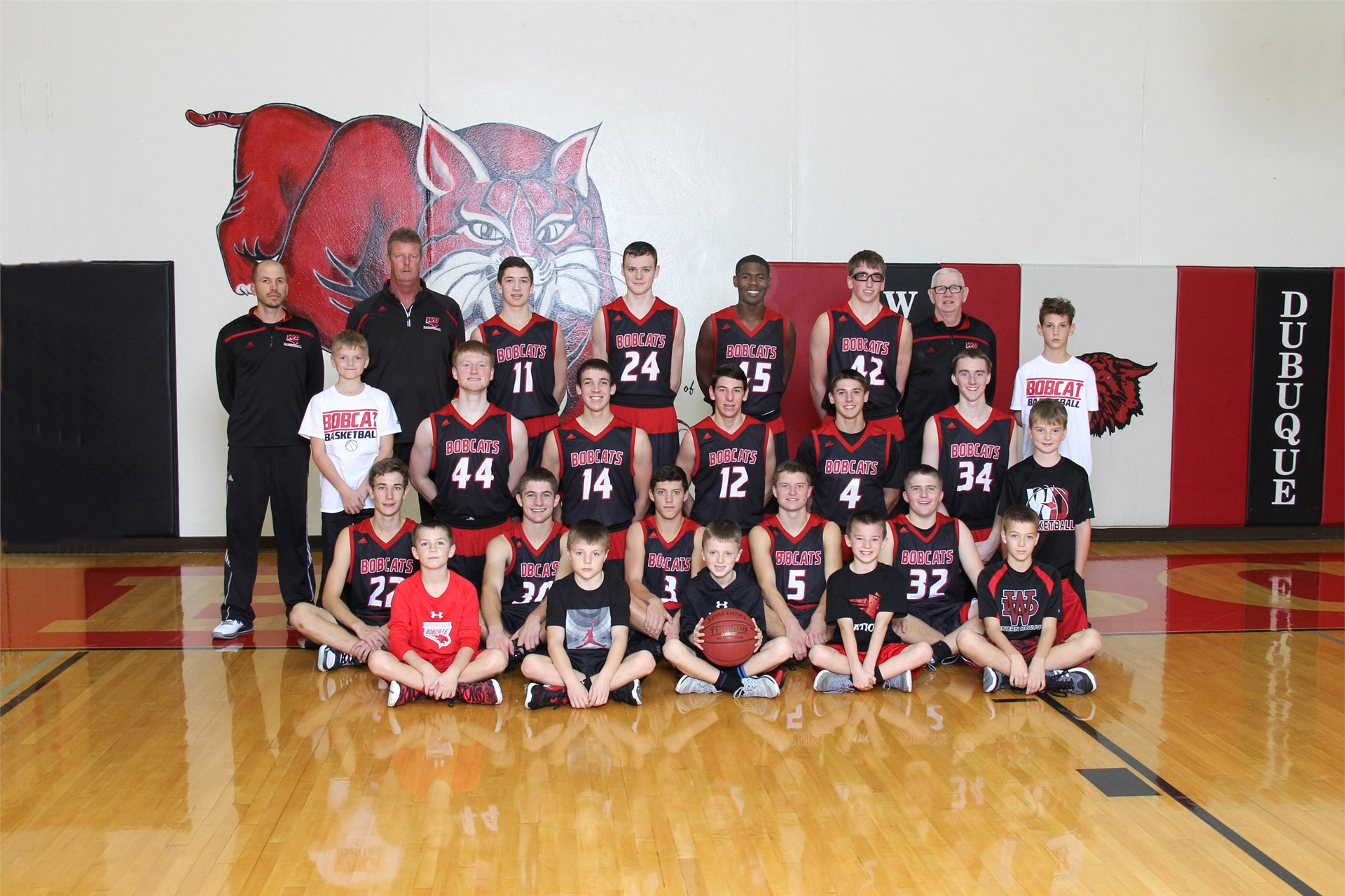 Varsity Boys Basketball - Coach Dennis Geraghty & Wayne Cusick