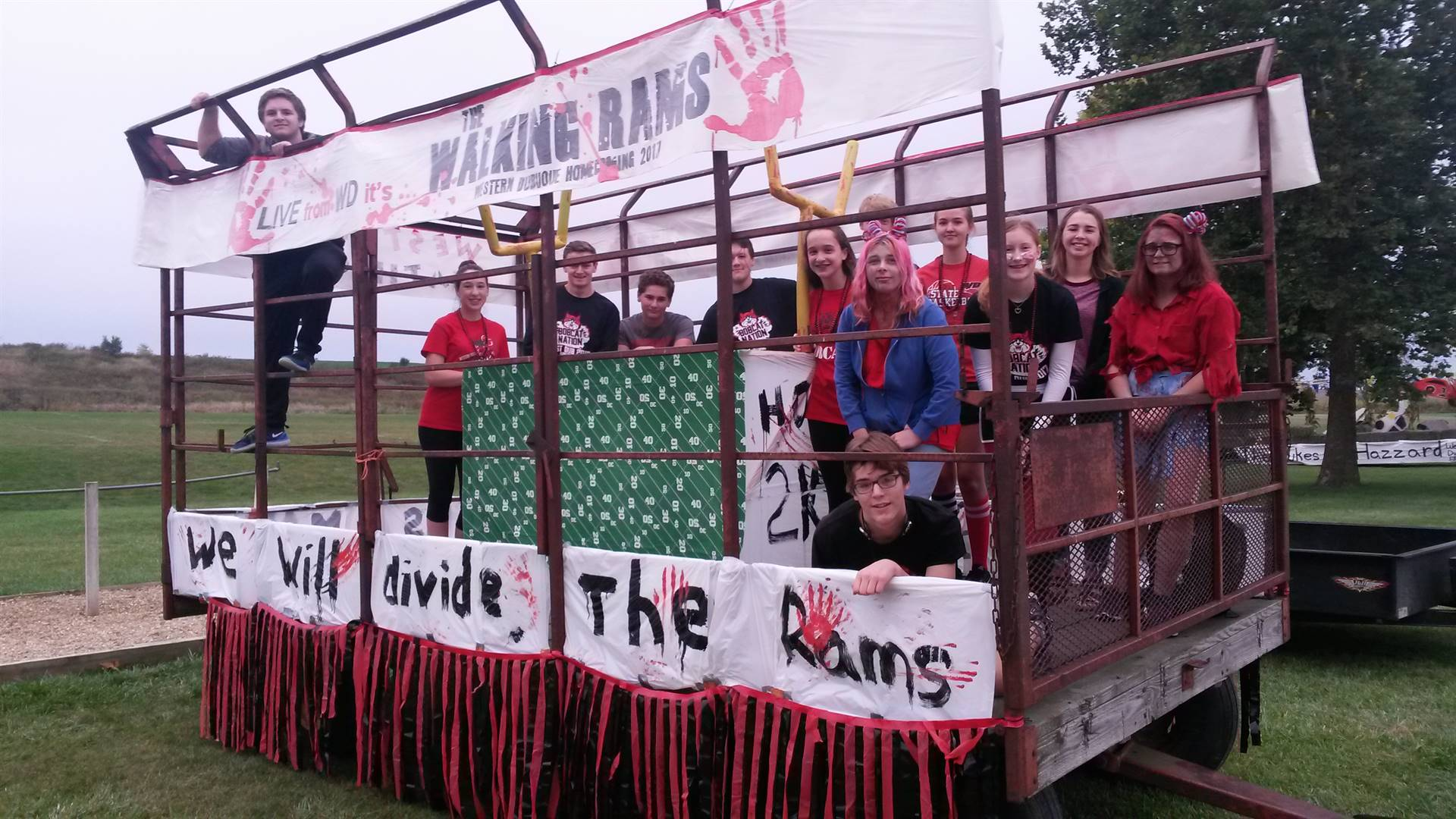 Left Side - Math Club Float