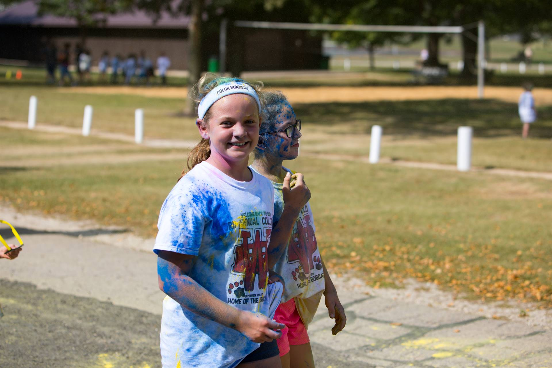 girl 21 at color run