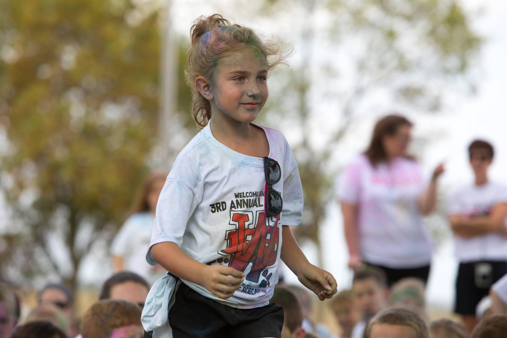 Girl 2 at color run