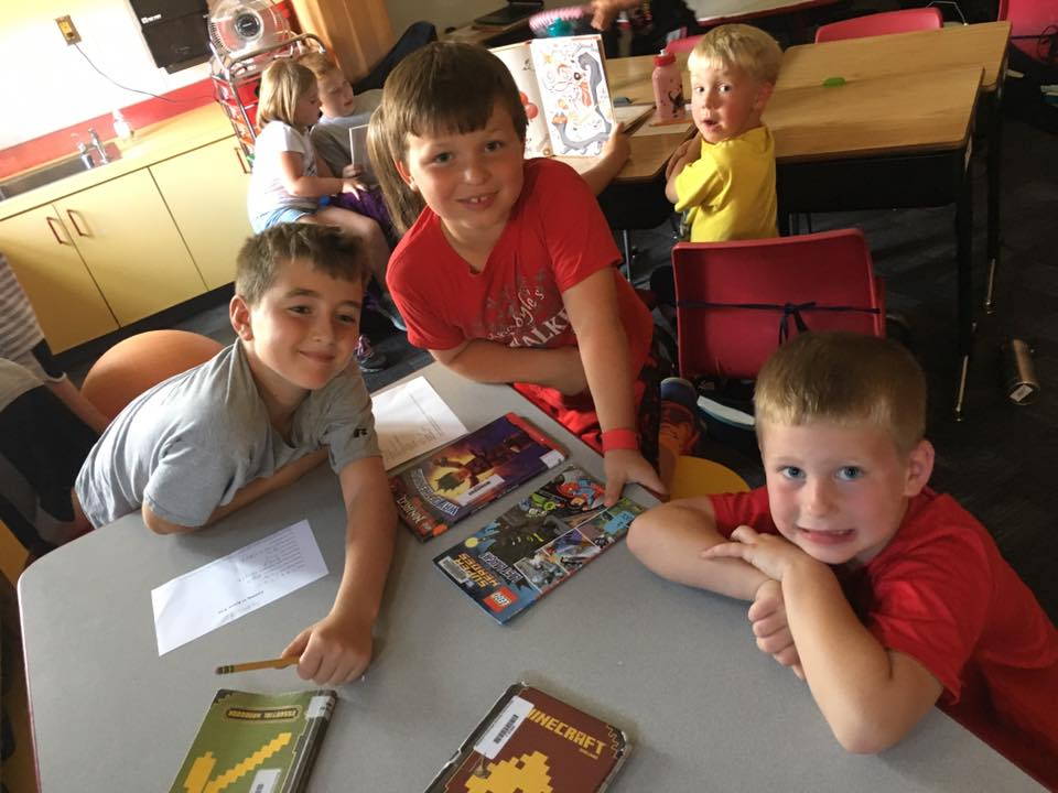 Farley Elementary reading buddies