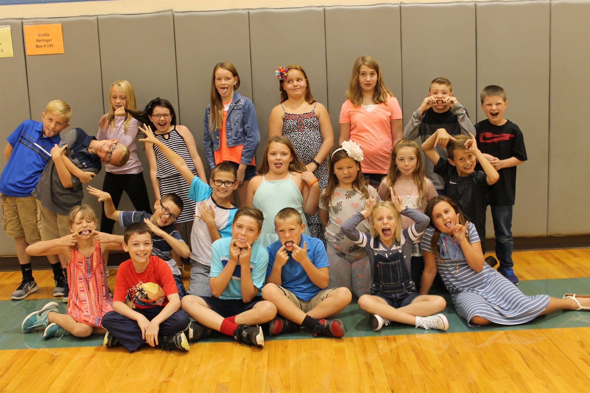 4th Grade Epworth Elementary Silly Picture