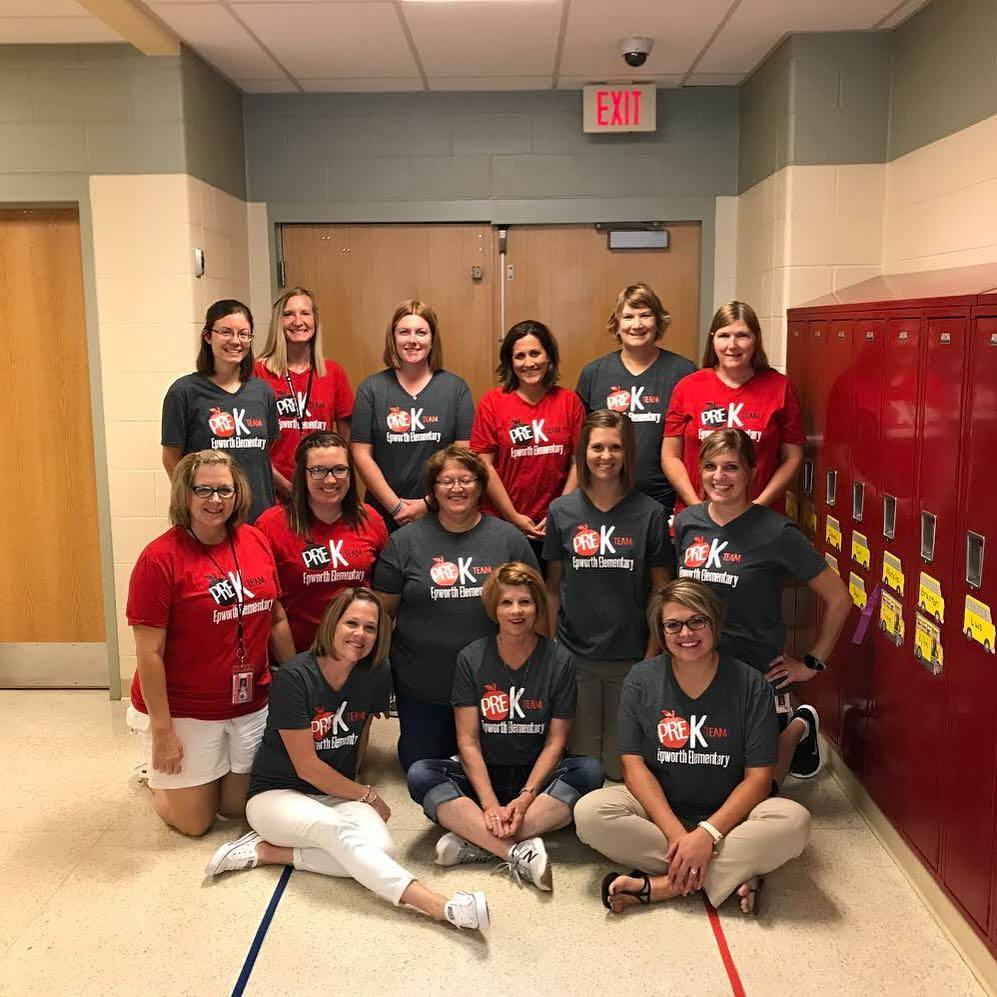Epworth Elementary Preschool Team 2017-2018