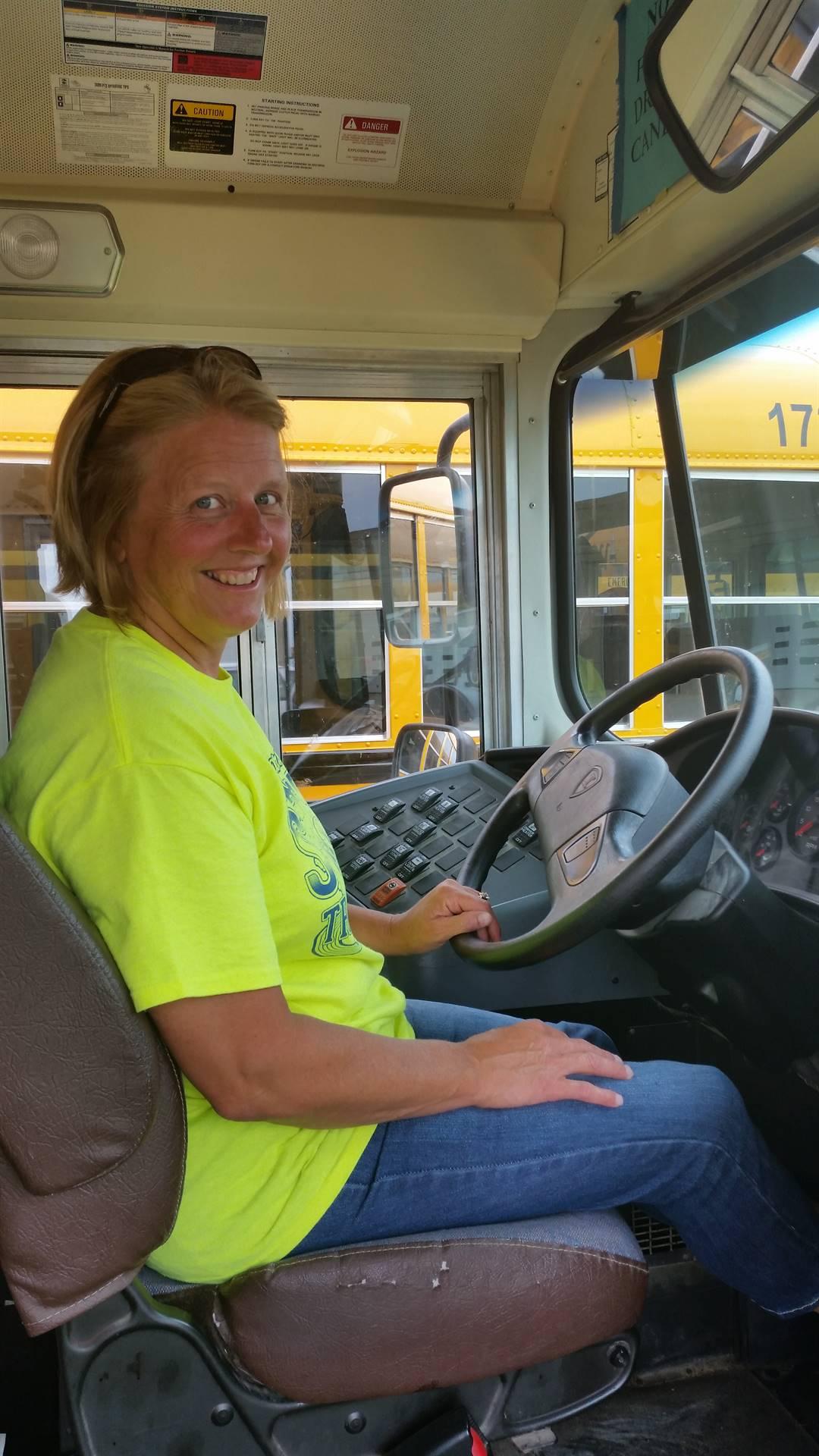 Sub bus driver Jodi Dolphin