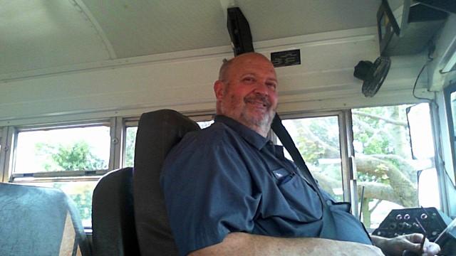 Bus driver Dan Friedmann