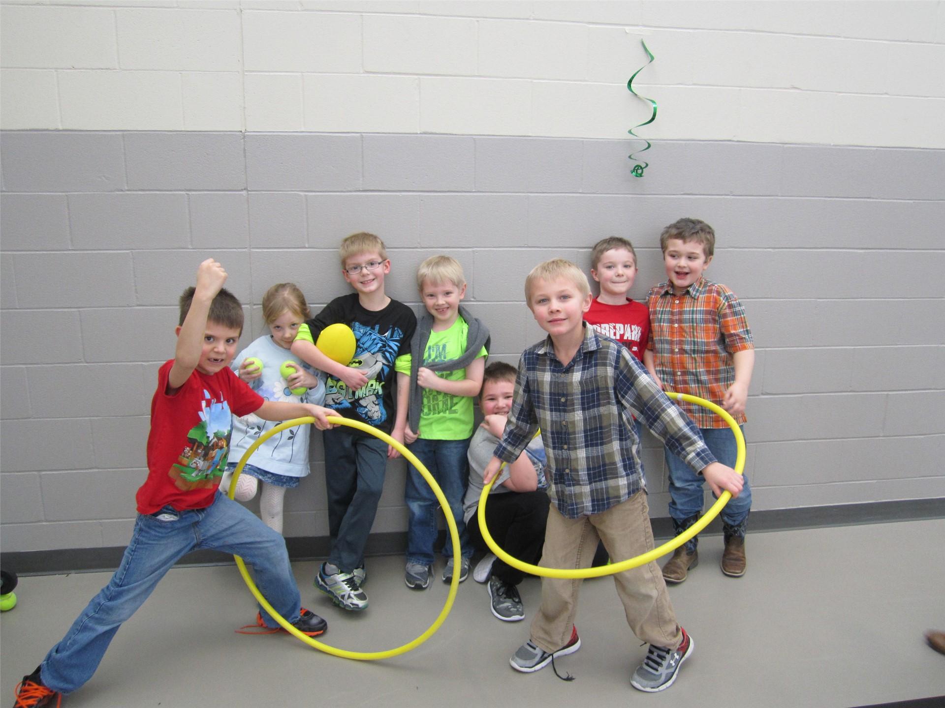 1st grade recess