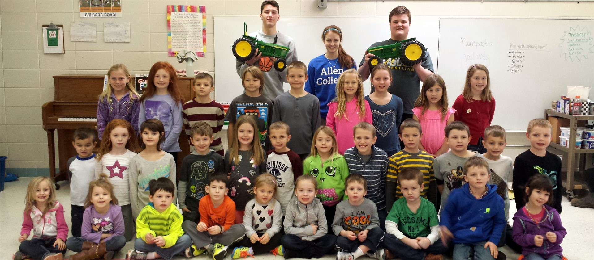 Bernard Elementary Students