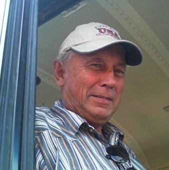 photo of Bob Bonert standing in his bus
