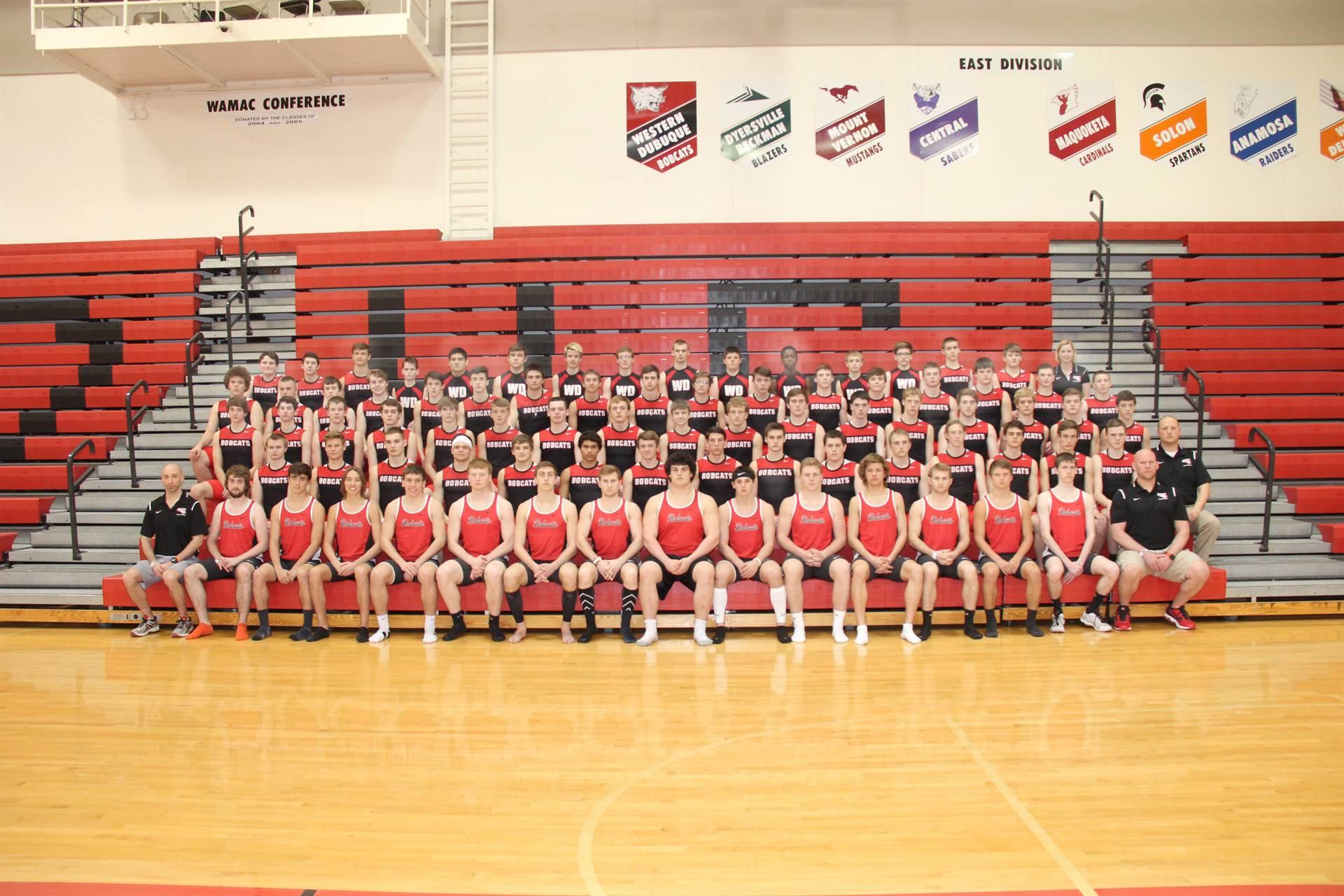 Boys Track Team Photo