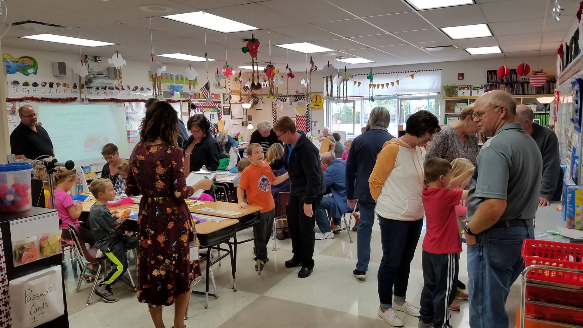 Grandparent's day in 1st grade