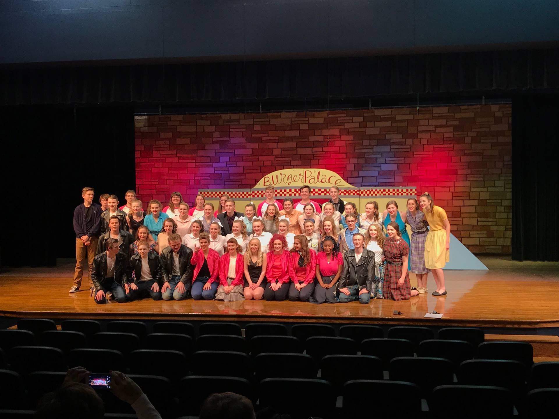 The Cast and Crew of Grease