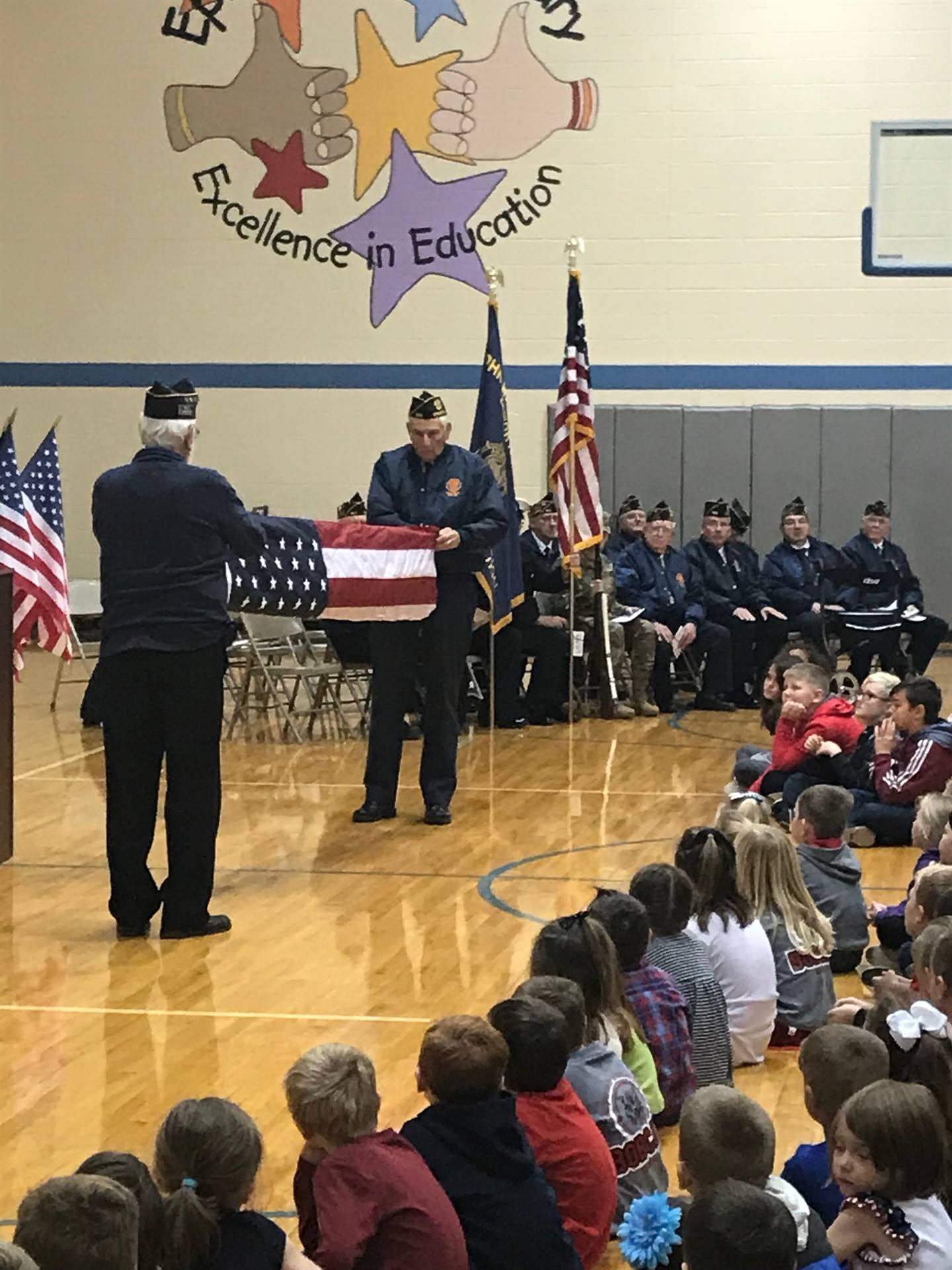 Veterans Day 2018 - Epworth Elementary