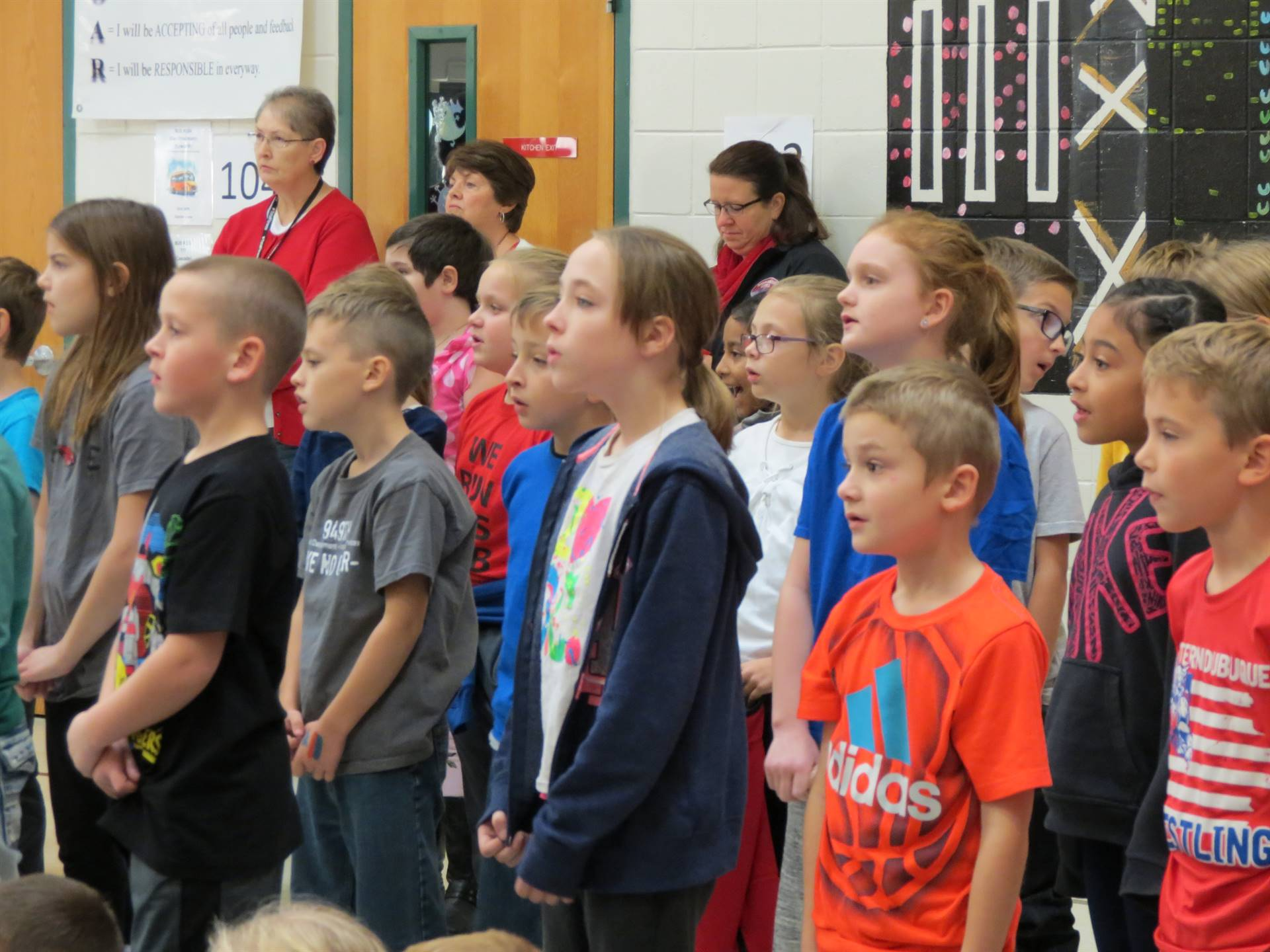 Veterans Day Assembly 2018 - Farley Elementary