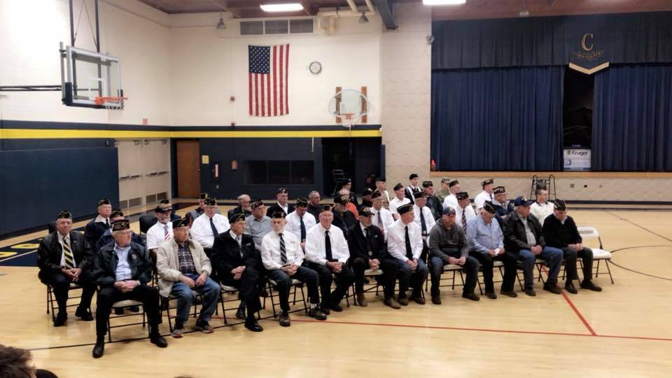 Veterans Day Assembly 2018 - Cascade Jr/Sr High School