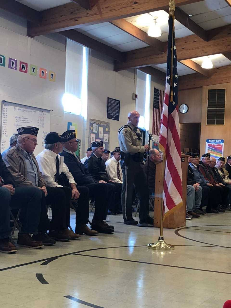 Veterans Day Assembly 2018 - Cascade Elementary