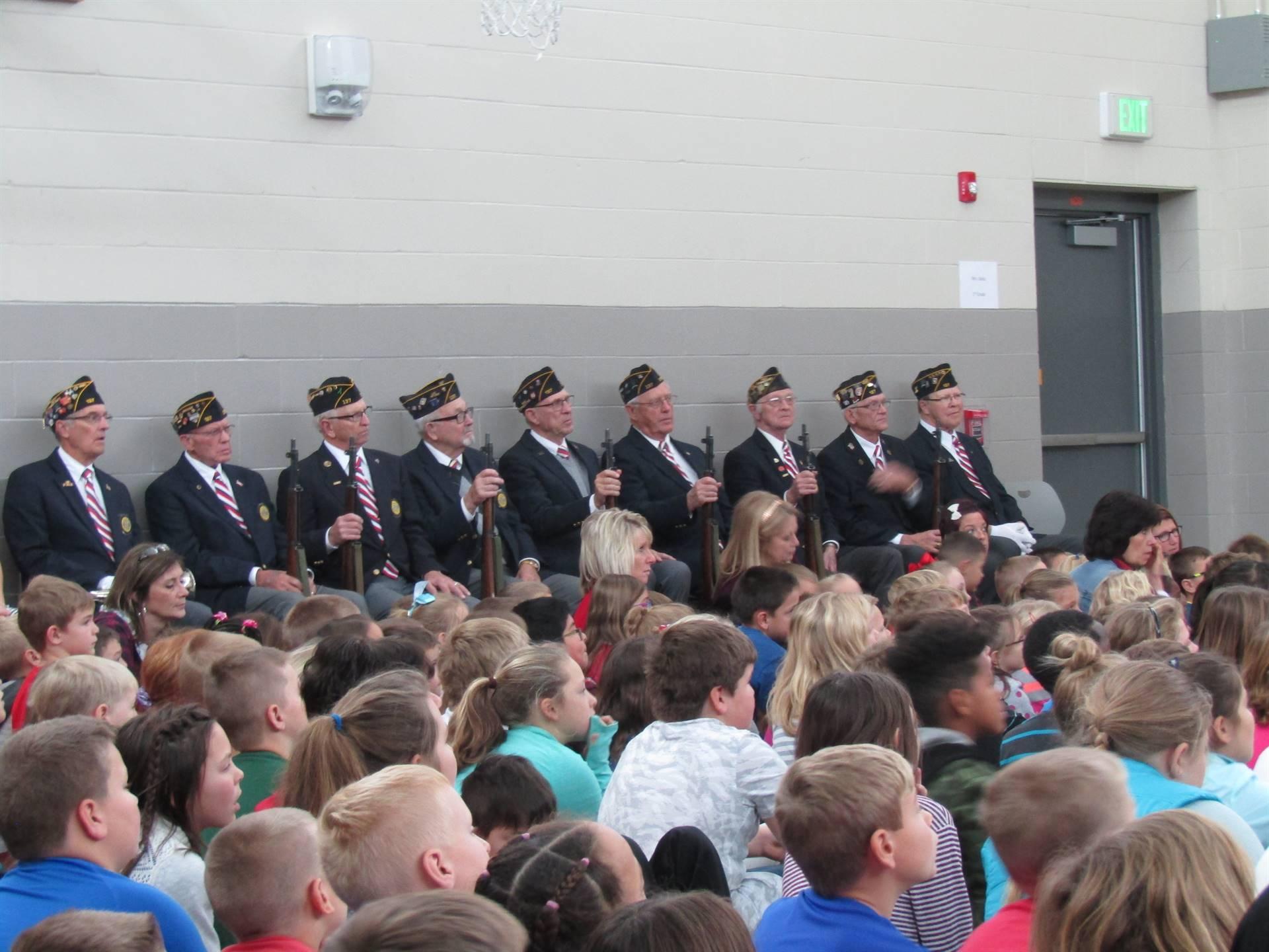 Veteran's Day Artillery Unit