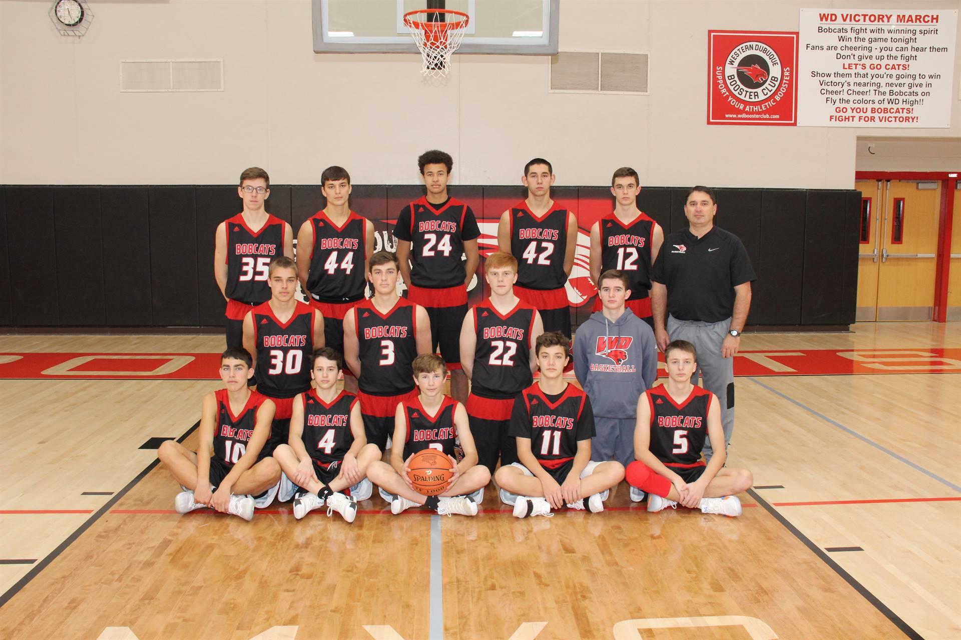 2018-19 Team Photo Sophomore Boys