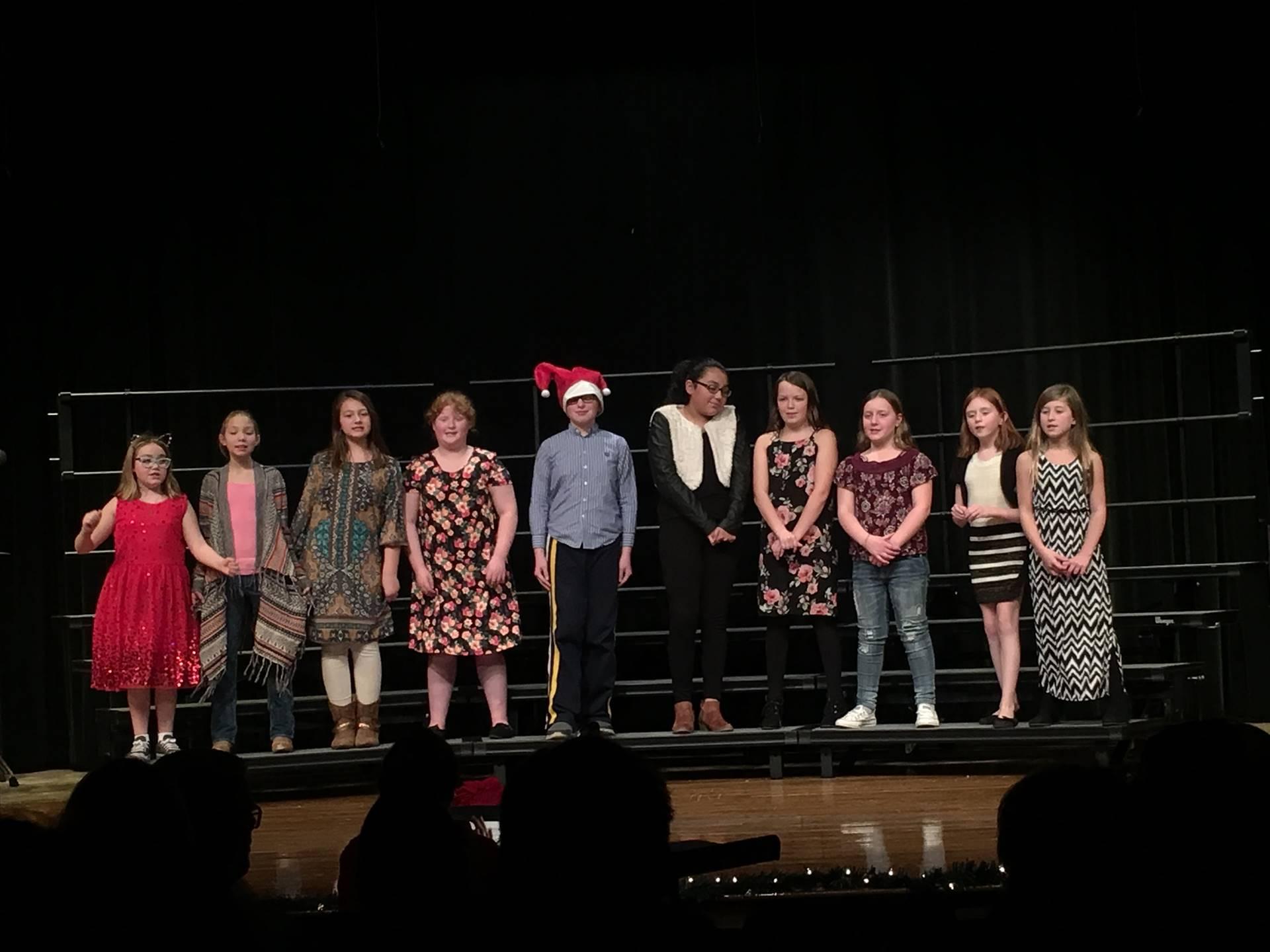 5th 6th Choir @ HS concert