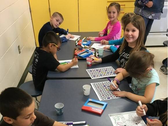 art fun with students