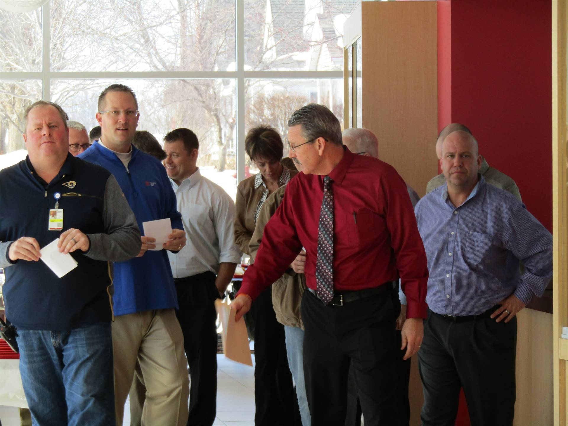 WDCCSD superintendent leads group tour