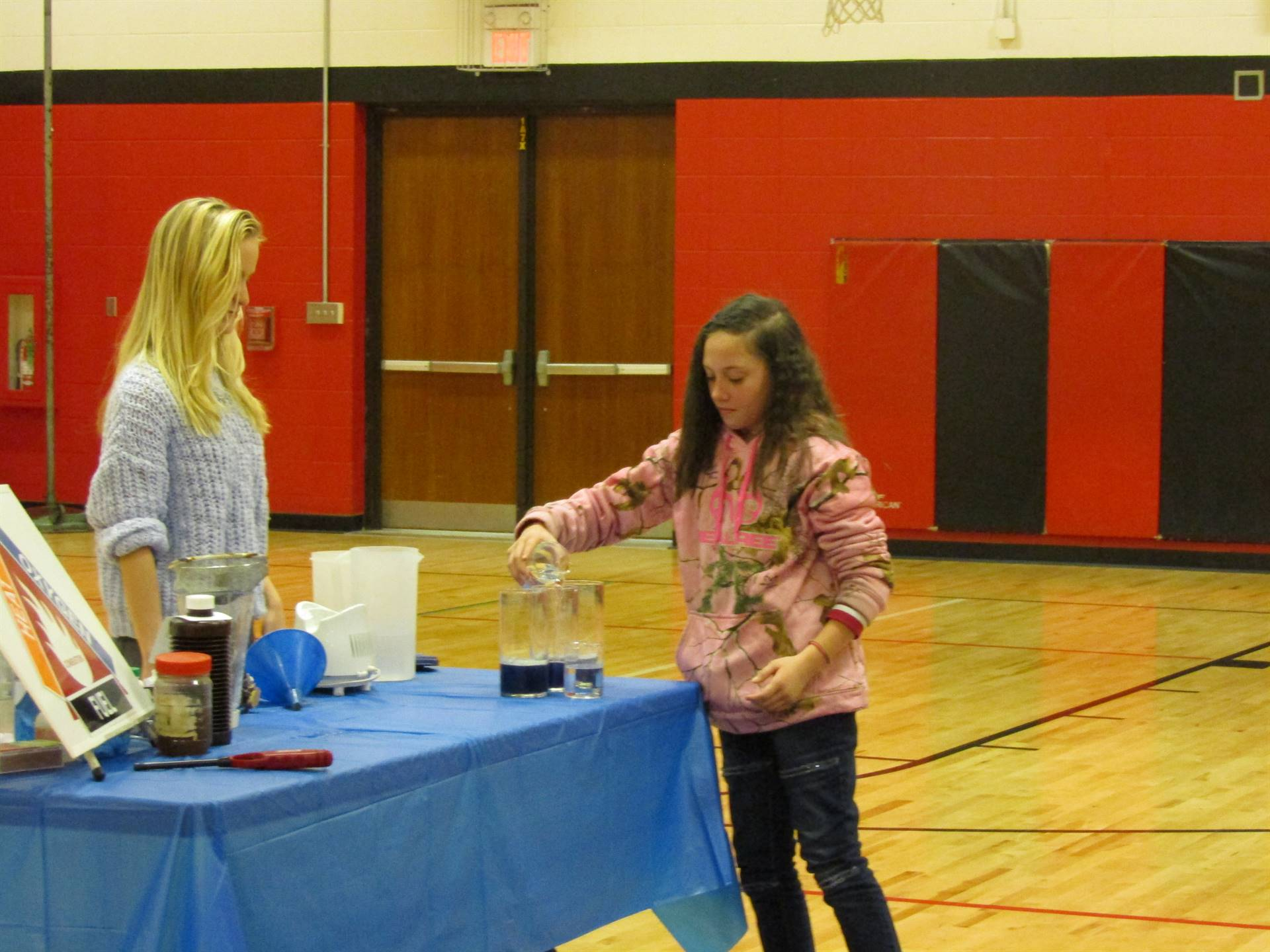 Grout Museum presents to 5th grade