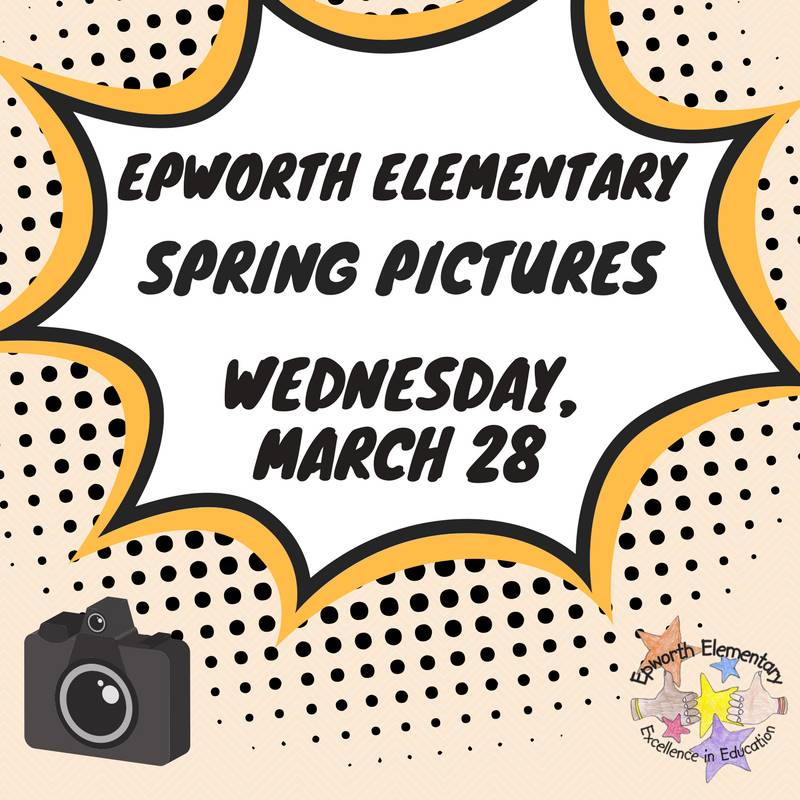 Spring Pictures are rescheduled for March 28