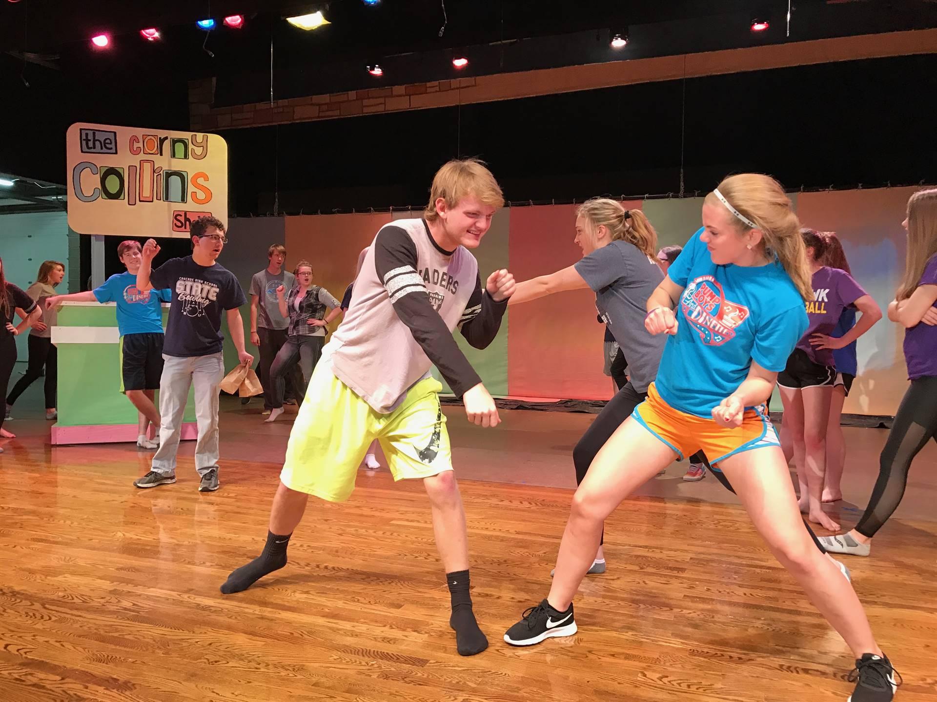 Fight Scene Practice!