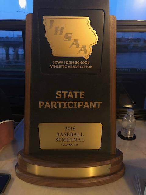 2018 State Tournament Trophy