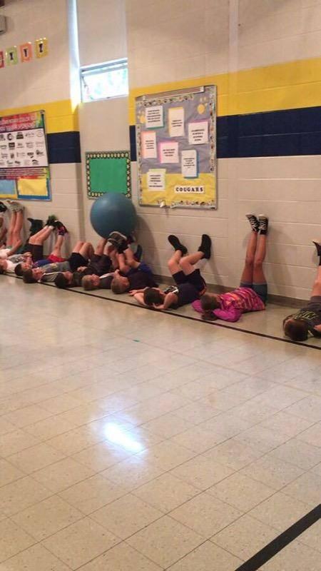 1st grade teamwork