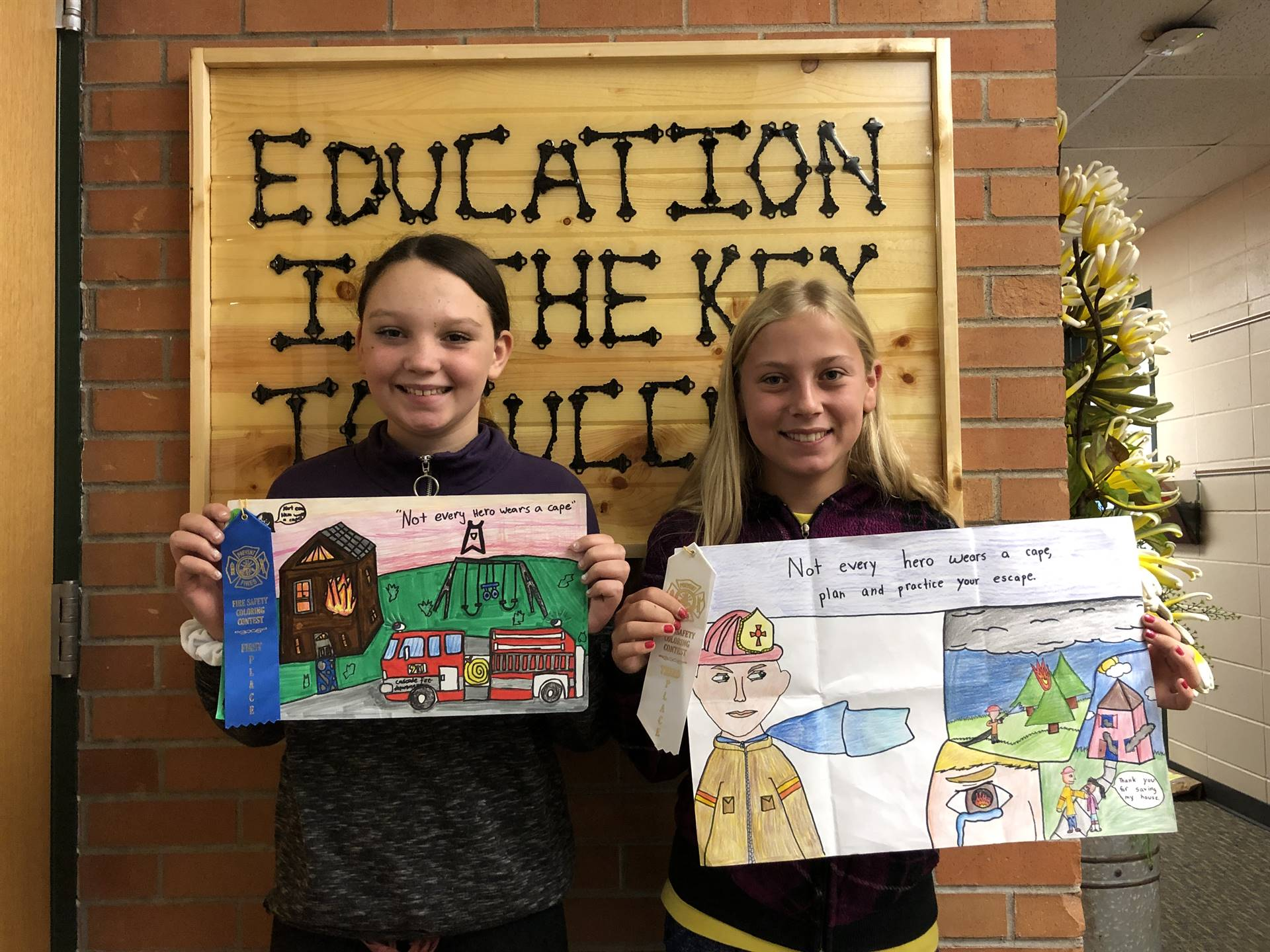 Fire Poster winners 2019