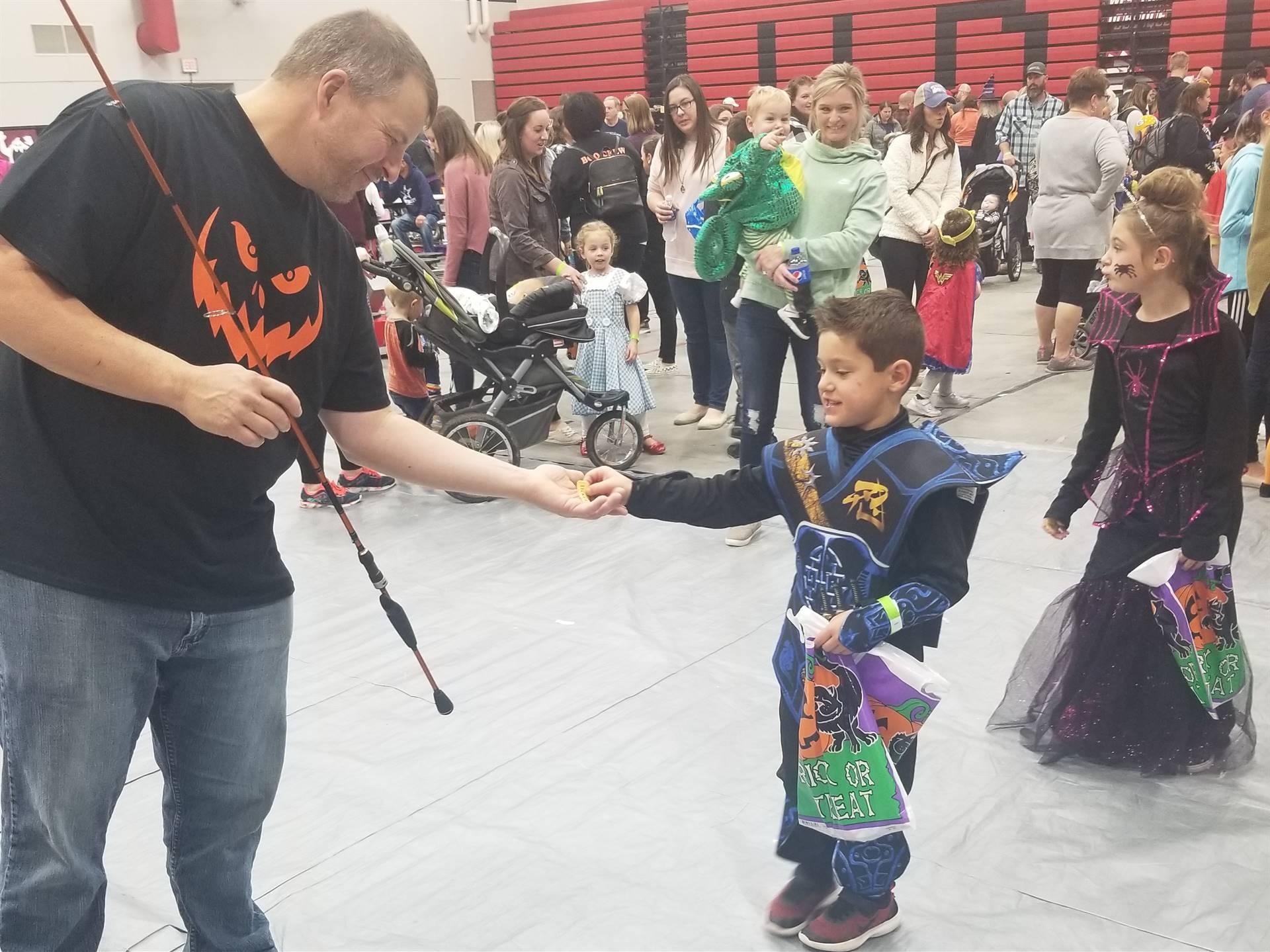 Community involvement with Halloween Hoot